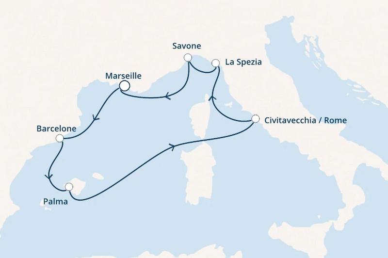 Costa Smeralda : Espagne, Baléares, Italie