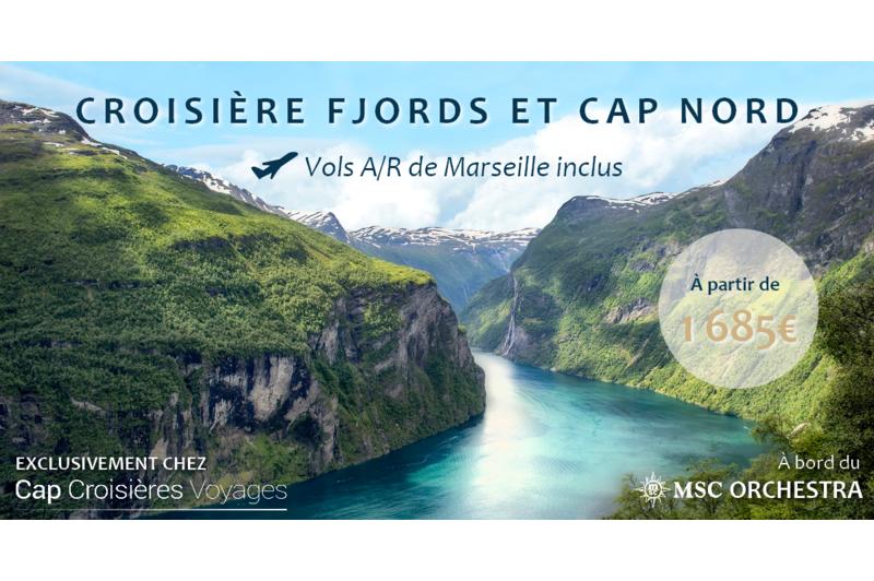 Orchestra : Fjords norvégiens et Cap Nord