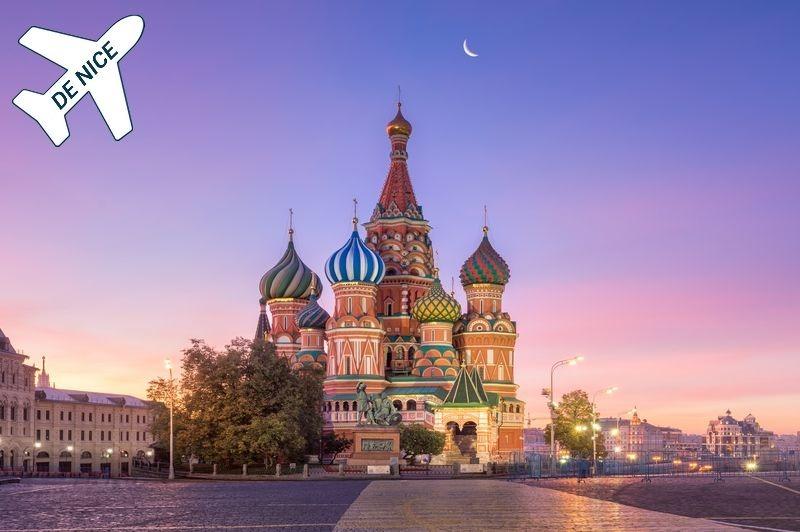 Croisière fluviale en Russie au départ de Nice