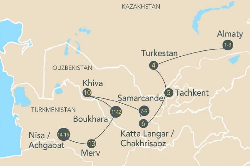 Croisière ferroviaire : la légendaire Route de la Soie